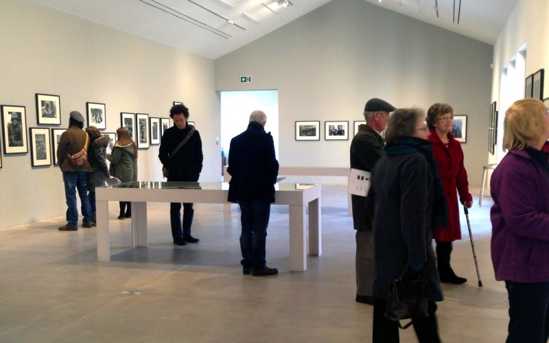 Art & Design students visit the McCullin photography exhibition