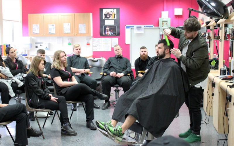 hair beauty industry college taylor james courses barbering certificate technical showcase strode level webber george