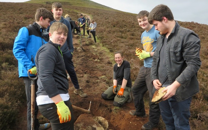News > Public Services Students Volunteering with the